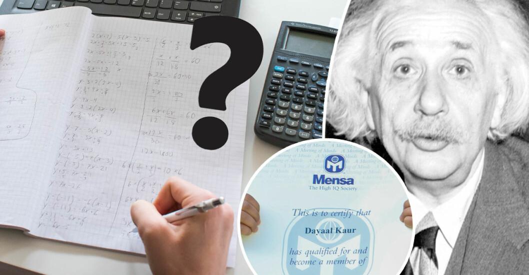 Hänger matematik och IQ ihop? Nej, enligt Mensa.