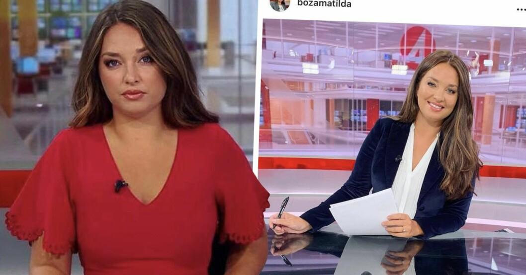 Matilda Boza på TV4