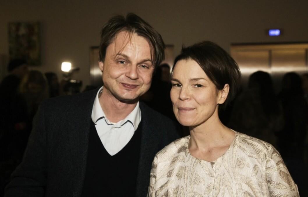 Mattias Palme och frun