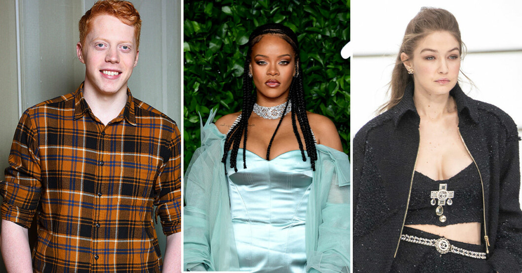 Mauri Hermundsson, Rihanna, Gigi Hadid