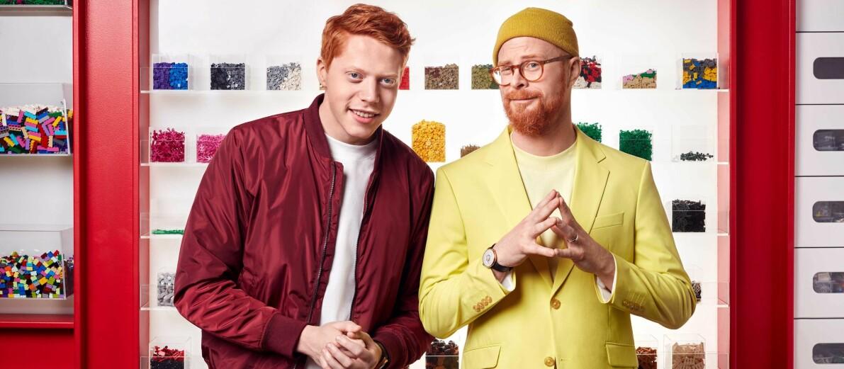 Mauri Hermundsson och Magnus Göransson