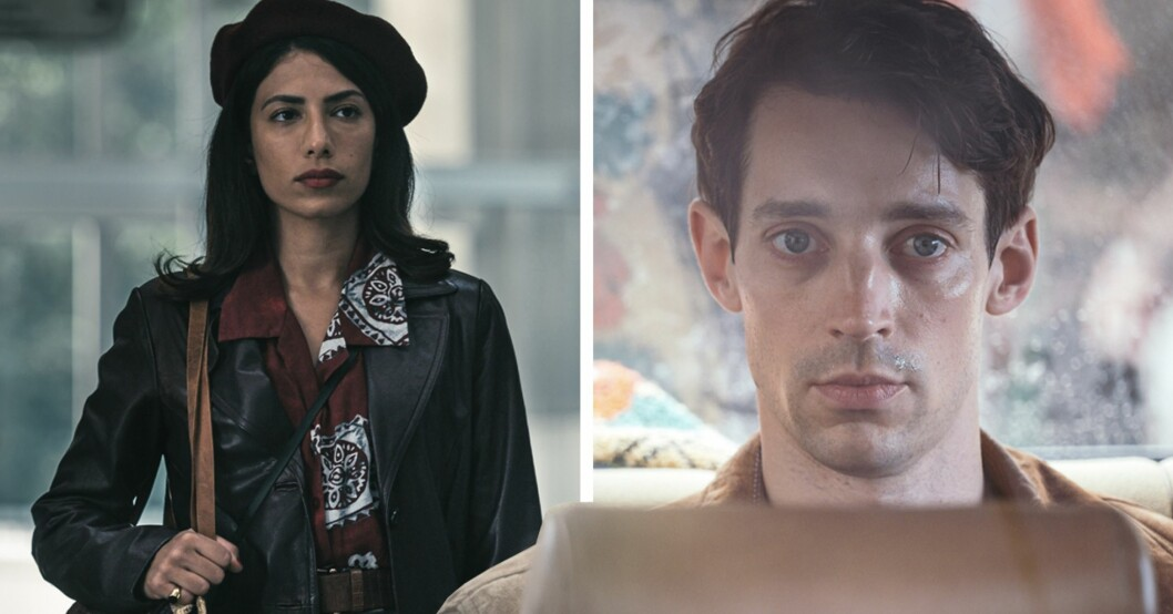 Evin Ahmad och adam lundgren i Max Anger