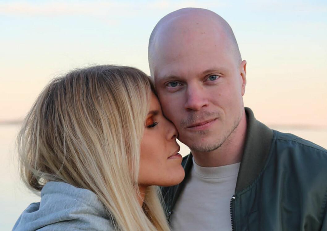 Gift vid första ögonkastet-Maxine Nordlindh och Emil Nygren.