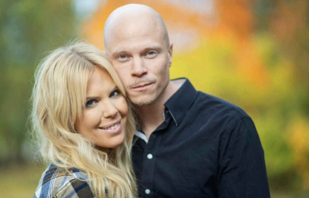 MAXINE OCH EMIL I GIFT VID FÖRSTA ÖGONKASTET 2020