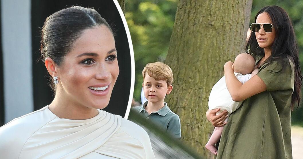 Mehgan Markle och prins harry hyllas efter nya bilderna med Archie