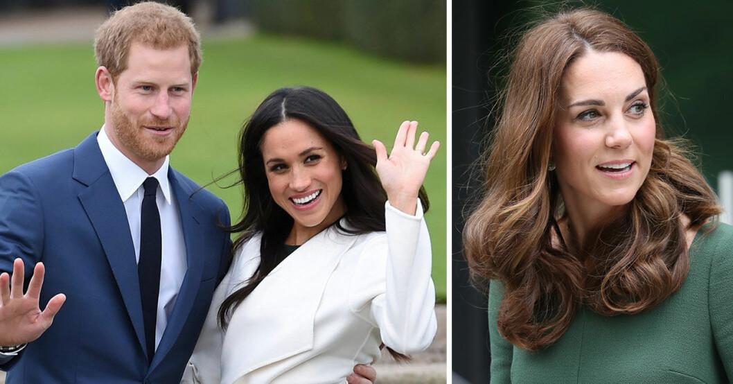 Prins Harry och Meghan Markle avföljer prins William och Kate på Instagram.