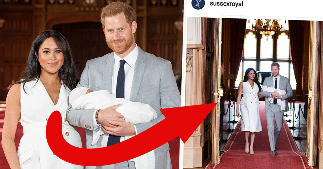 Meghan Markle hyllas för bilden efter förlossningen.