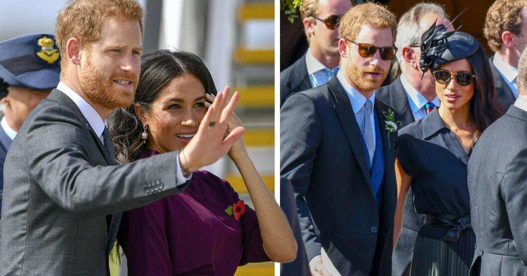 Prins Harry och Meghan Markle flyttar från Kensington palace