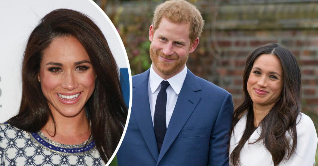Meghan Markle och prins Harry gifter sig den 19 maj 2018.