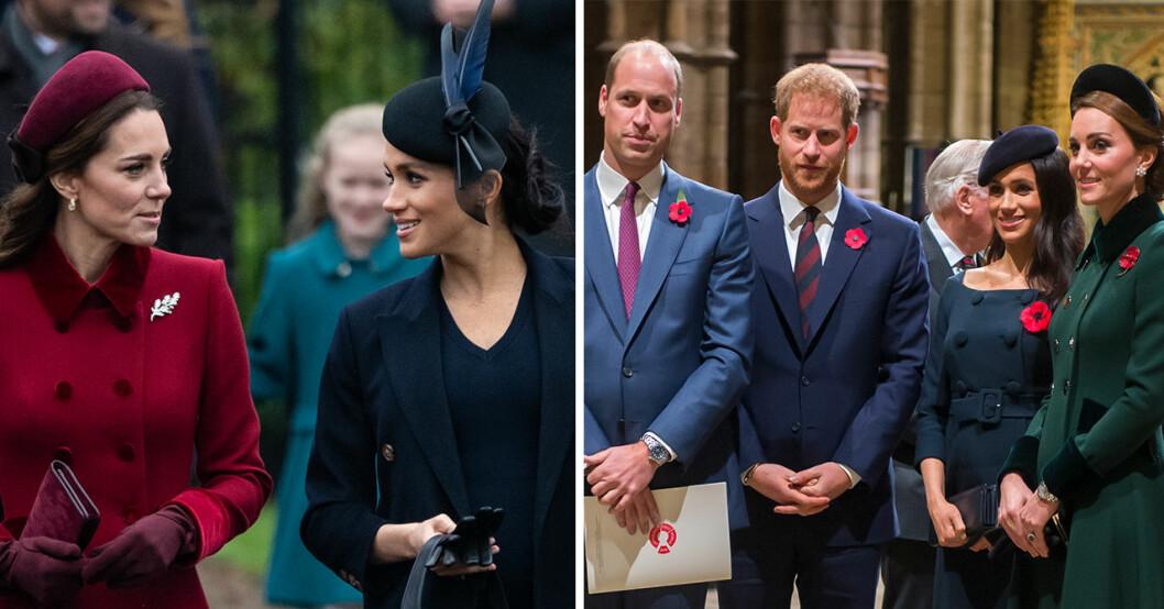 Nya uppgifter om bråket mellan Meghan Markle och Kate Middleton