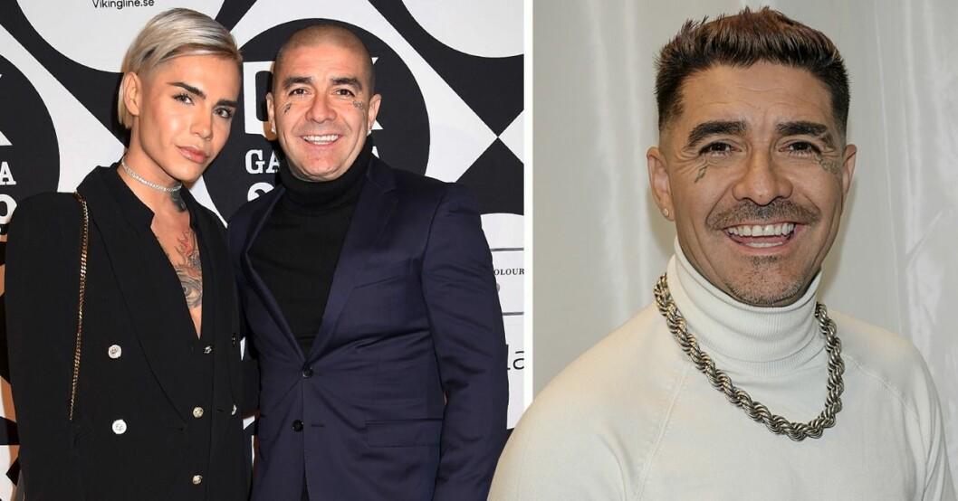 Melodifestivalen 2020. Leo Méndez JR och pappa Leo Mendez