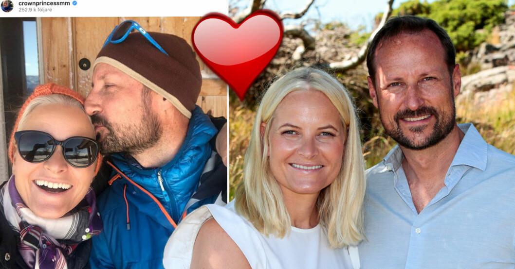 Mette-Marit och Haakons familjelycka