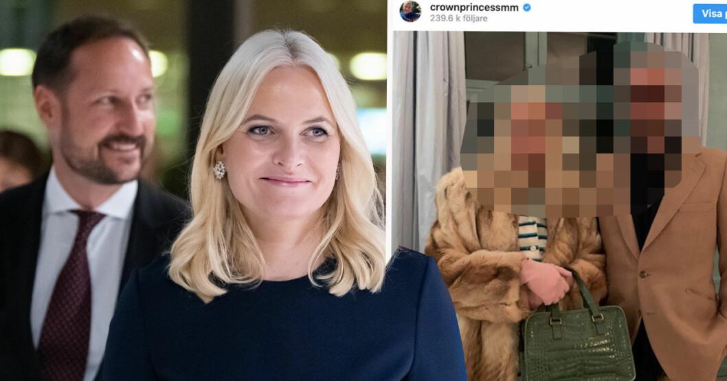 Mette-Marit och Haakon Halloween 2019