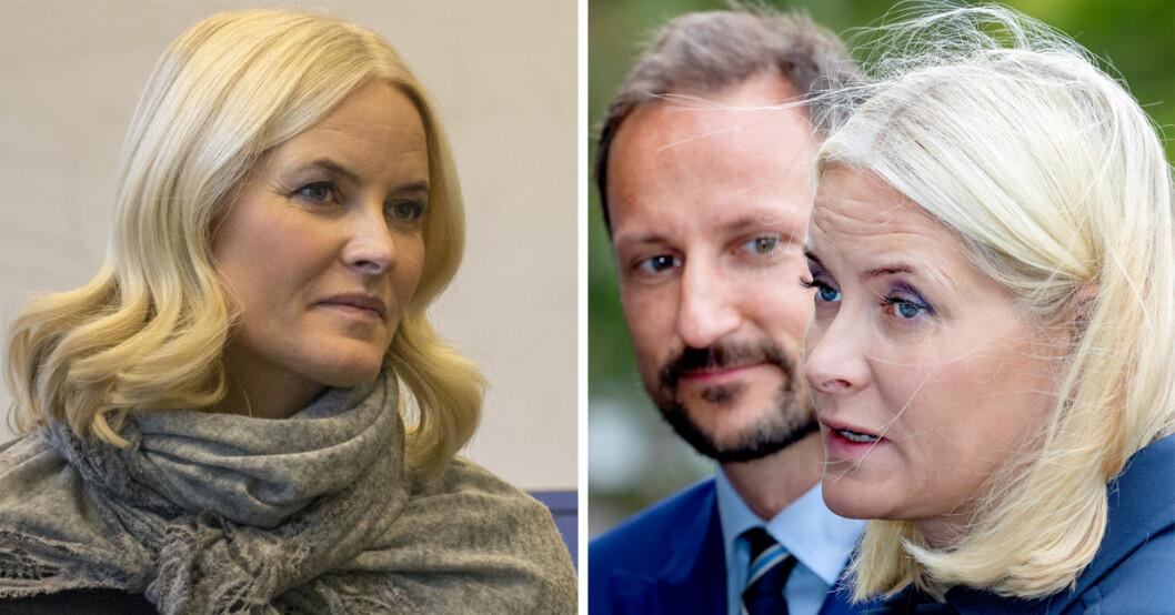 Norska hovet meddelar att kronprinsessan Mette-Marit är svårt sjuk i lungfibros.