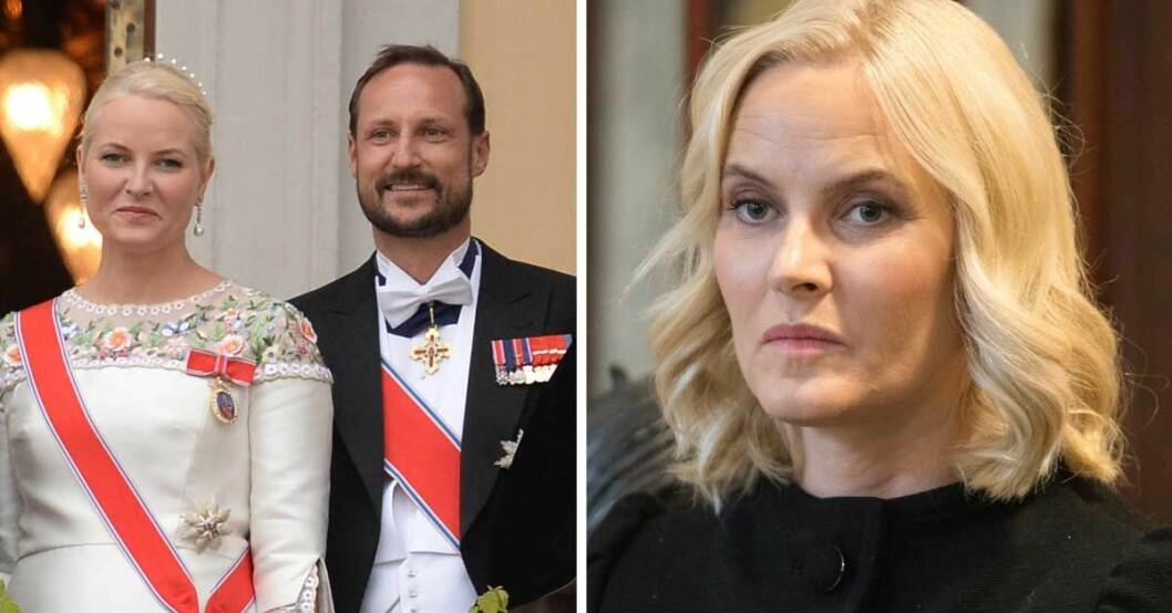 Kronprinsessan Mette-Marit sjuk