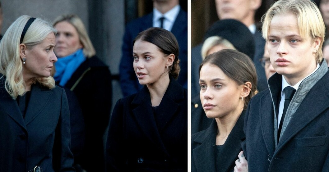 Kronprinsessan Mette-Marit, Juliane Snekkestad, Marius Borg