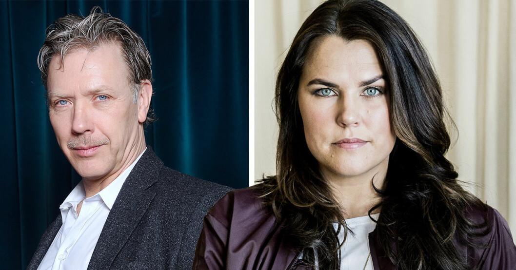 Mia Skäringers kritik mot Mikael Persbrandt i SVT