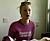 Zlatans ex-flickvän Mia Olhage äter frukost i rosa tröja