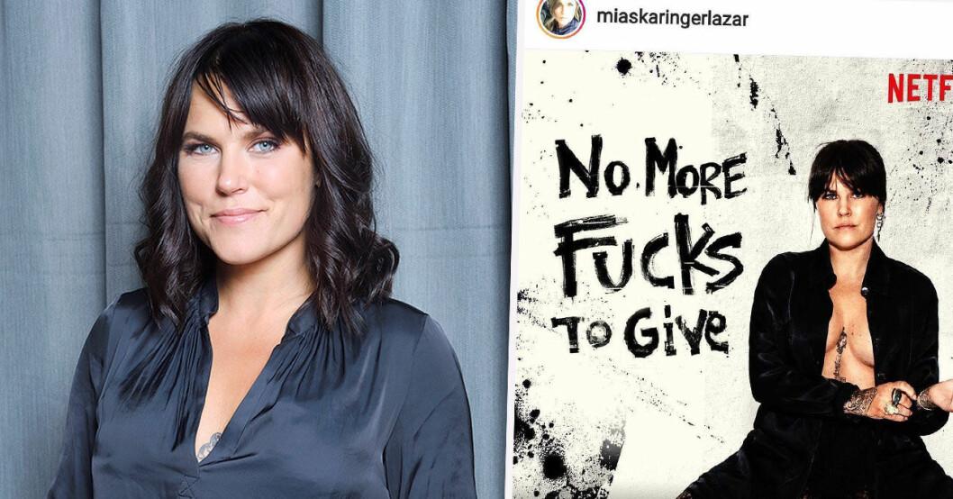 Mia Skäringers No more fucks to give kommer till Netflix.