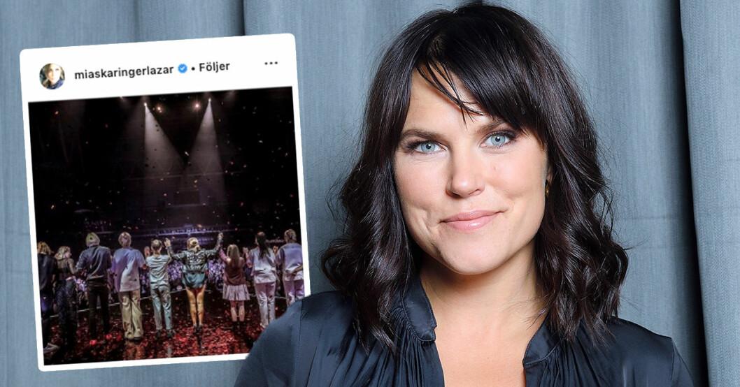 """Mia Skäringers ord efter miljonsuccén – det ska hon göra nu: """"Så overkligt"""""""