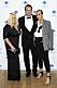 Mia Parnevik, Douglas Murray och Penny Parnevik på röda mattan