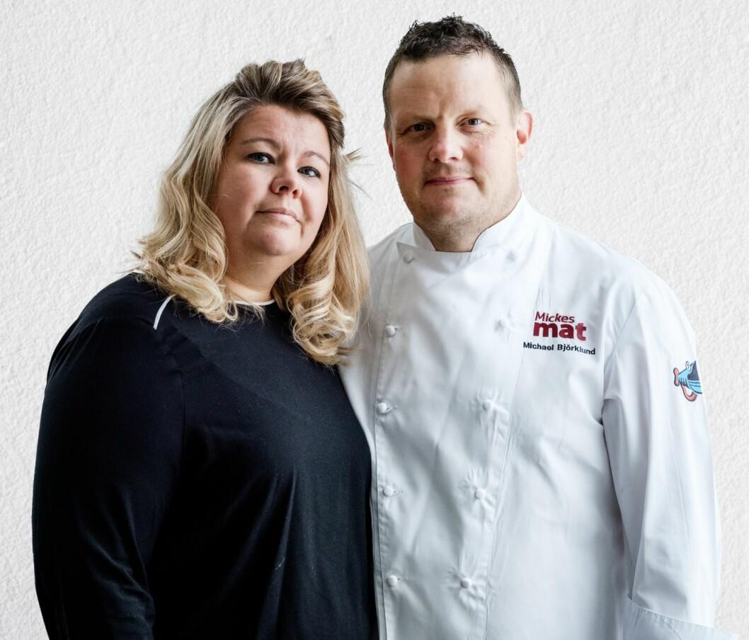 Michael Björklund och frun Jenny, Robinson 2020
