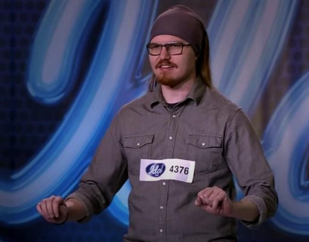 Micke Sundberg i Idol 2020