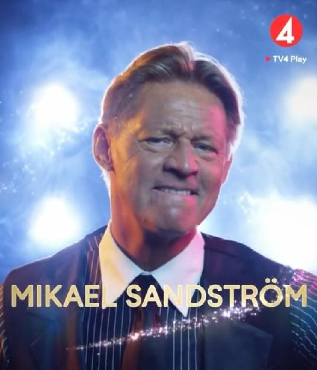 Mikael Sandström är med i Let's dance 2020