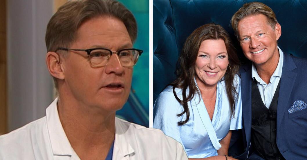 Mikael Sandströms utseendeförändring
