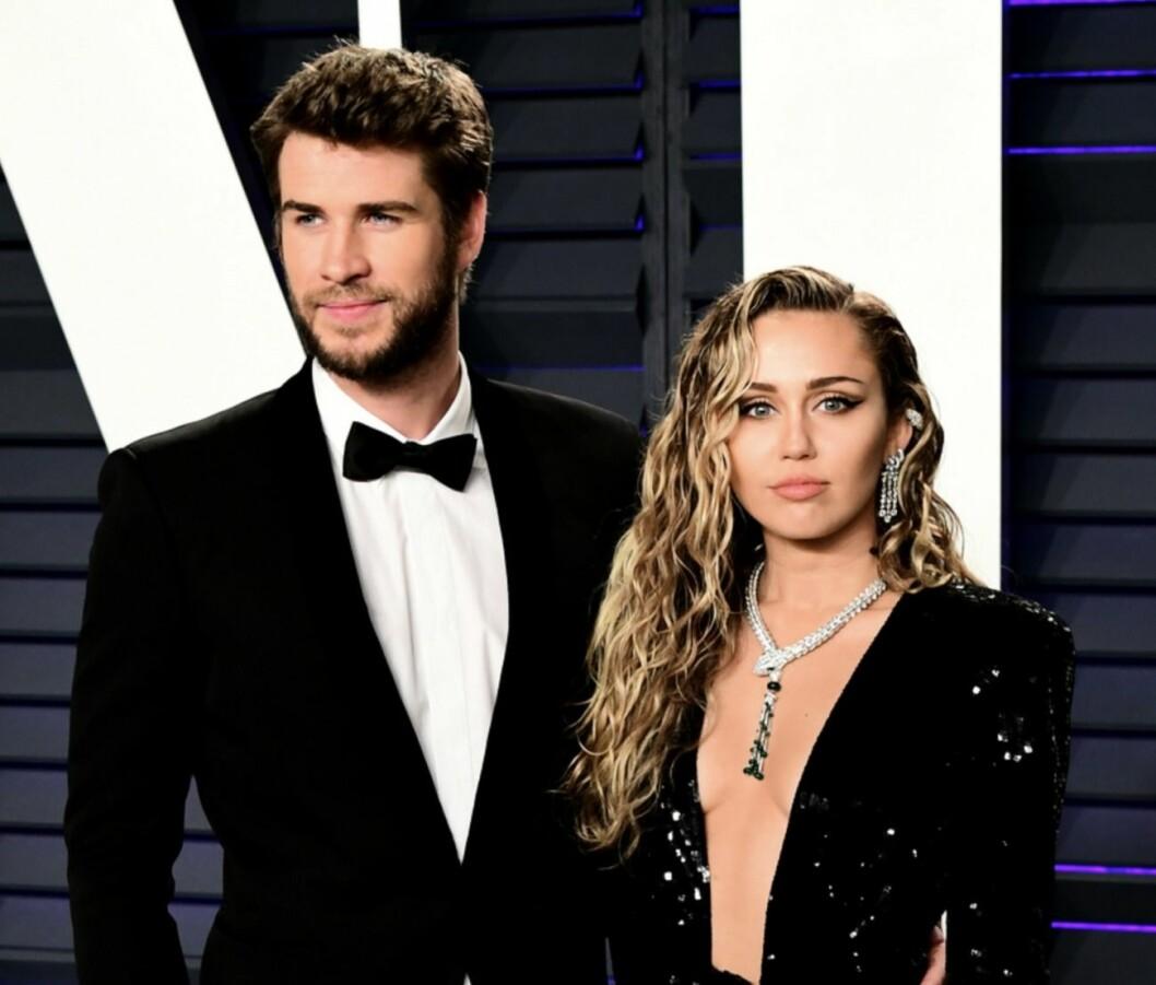 Liam Hemsworth och Miley Cyrus