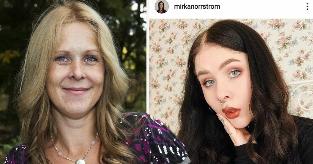Mirka Norrström om kampen för dottern.