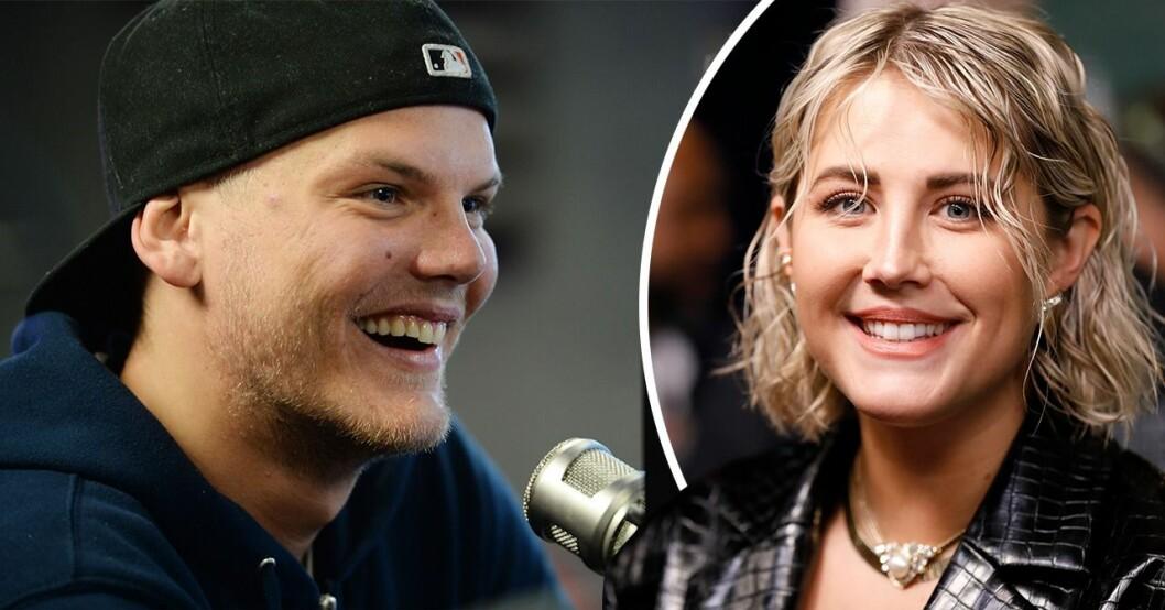 """Tim """"Avicii"""" Bergling och Molly Sandén"""