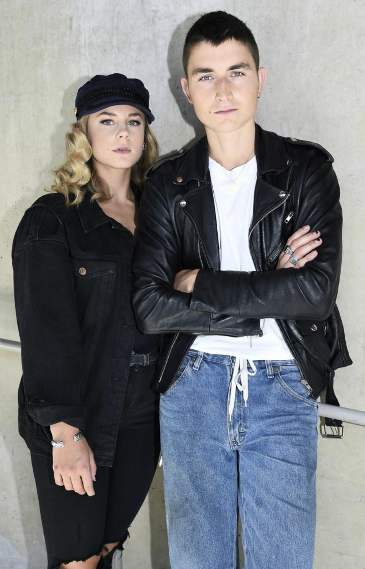Molly Nutley och Gustav Lindh