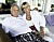 Sven Tumba med sin fru Mona Nessim