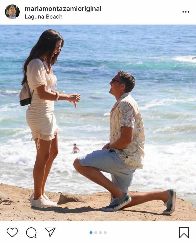 Sara Montazami har förlovat sig