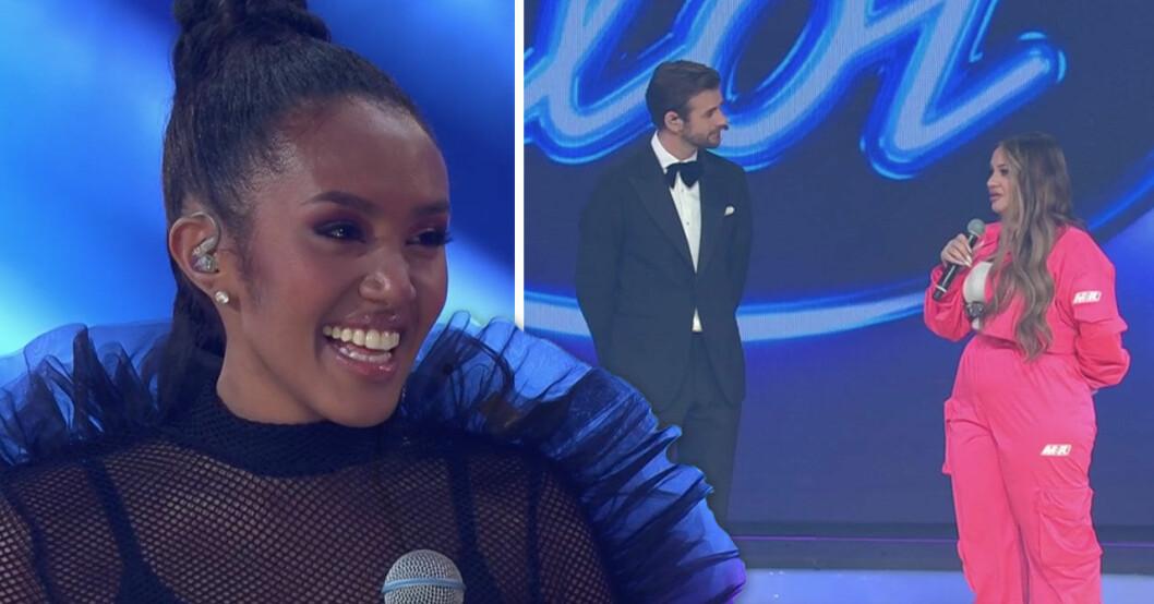 Nadja Holm vinner Idol 2020.