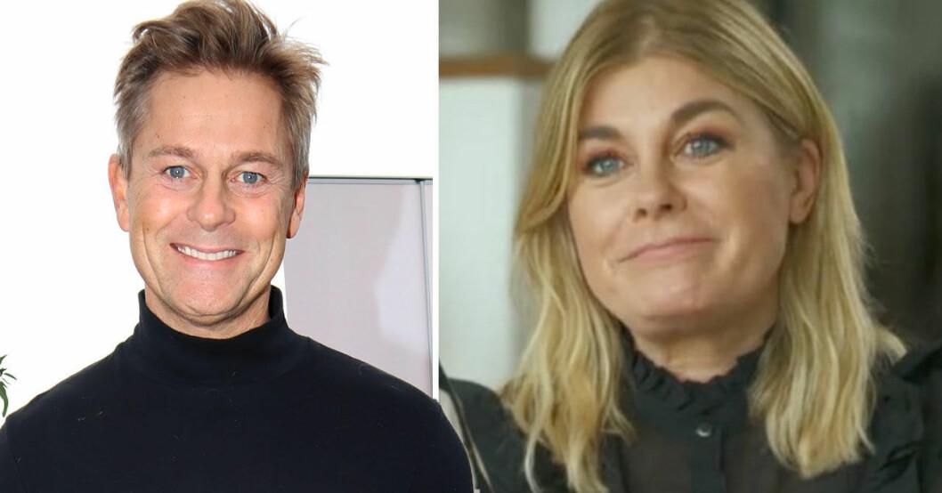 Niclas Wahlgren, Pernilla Wahlgren