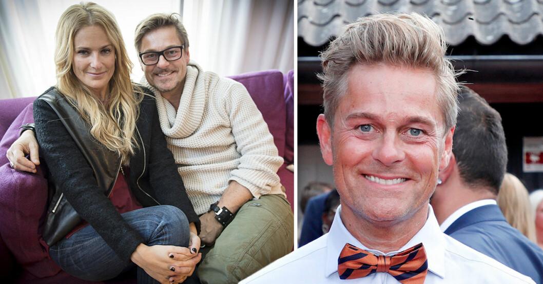 Niclas Wahlgren och Laila