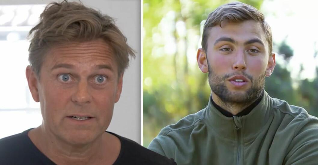 Niclas Wahlgrens hårda kritik mot Robinson