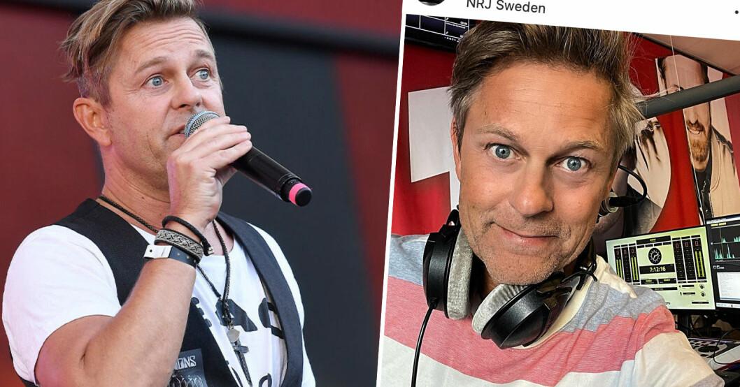Niclas Wahlgren slutar med NRJ Morgon.
