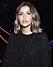 Nicole Falciani i svart glittrig tröja
