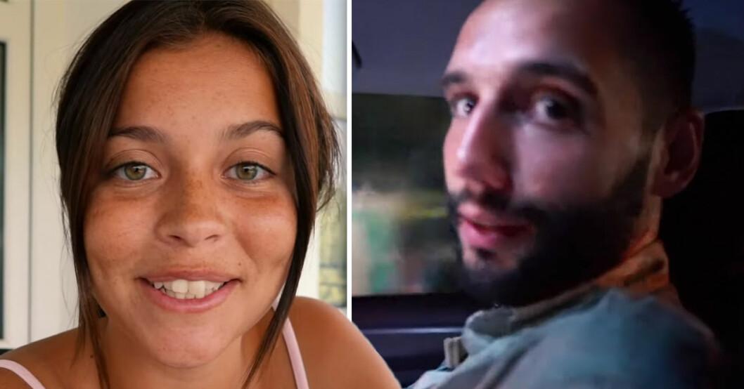 Nicole Falciani och pojkvännen Adem Berisha