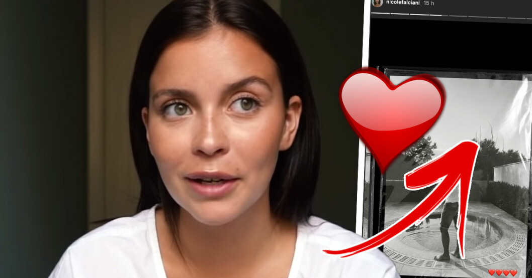 Nicole Falciani visar upp nya kärleken för första gången