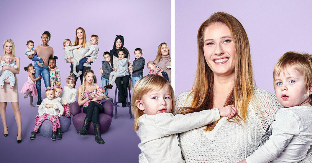 Niffi Sjöberg Unga mammor