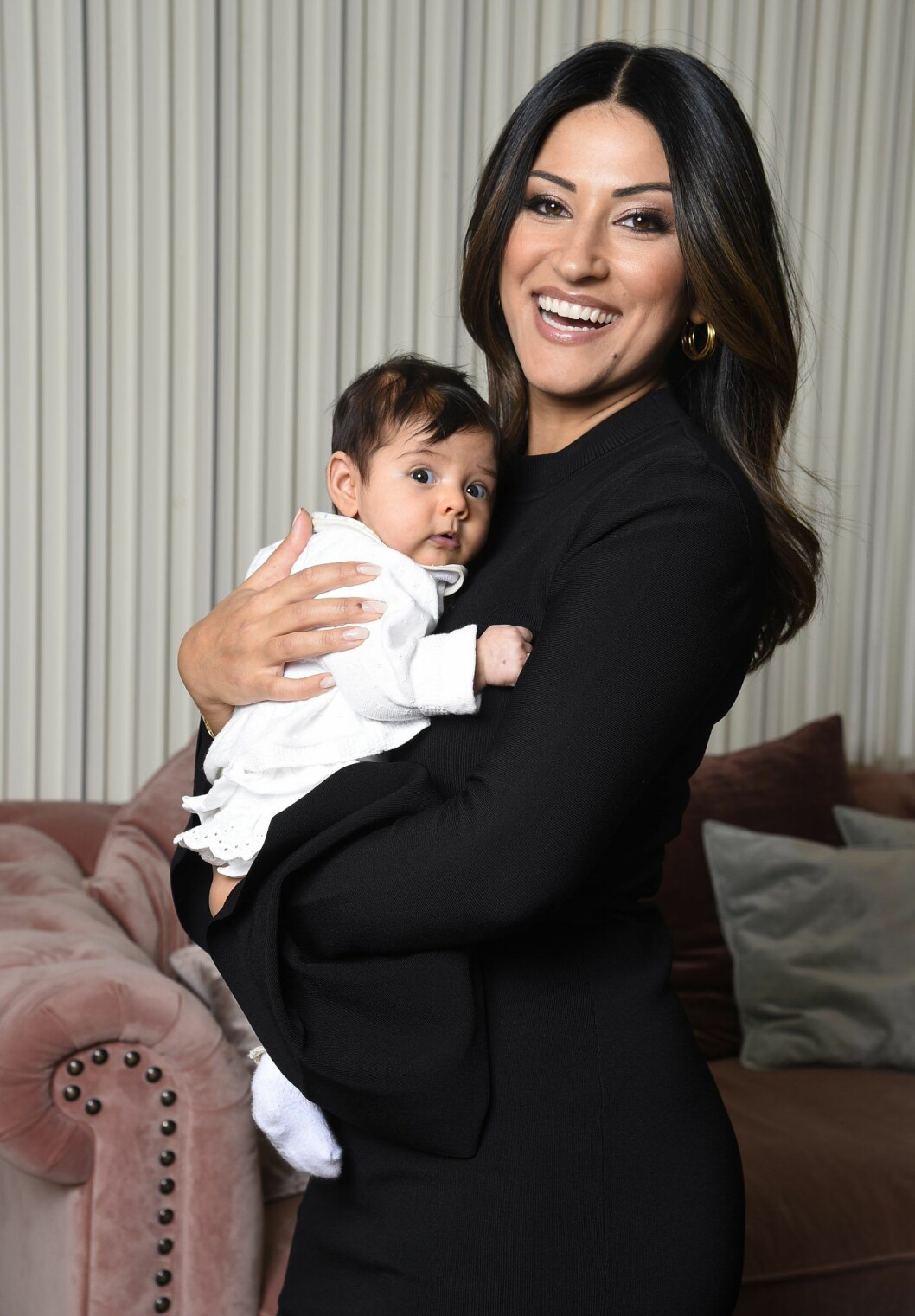 Nikki Amini med dottern Nilo