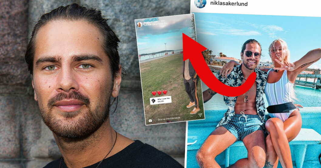 Niklas Åkerlund i Ex on the beach