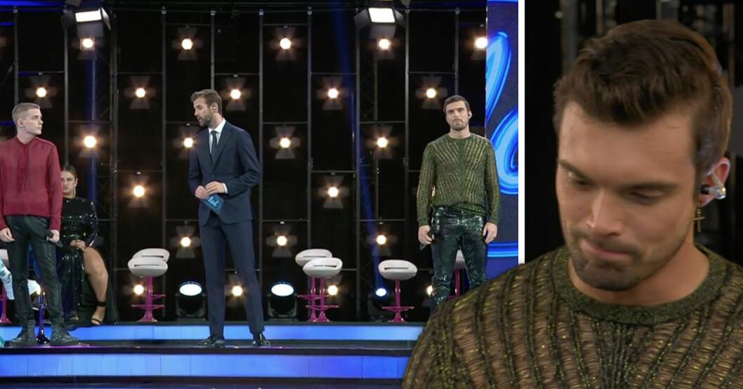Niklas Hultberg fick lämna Idol