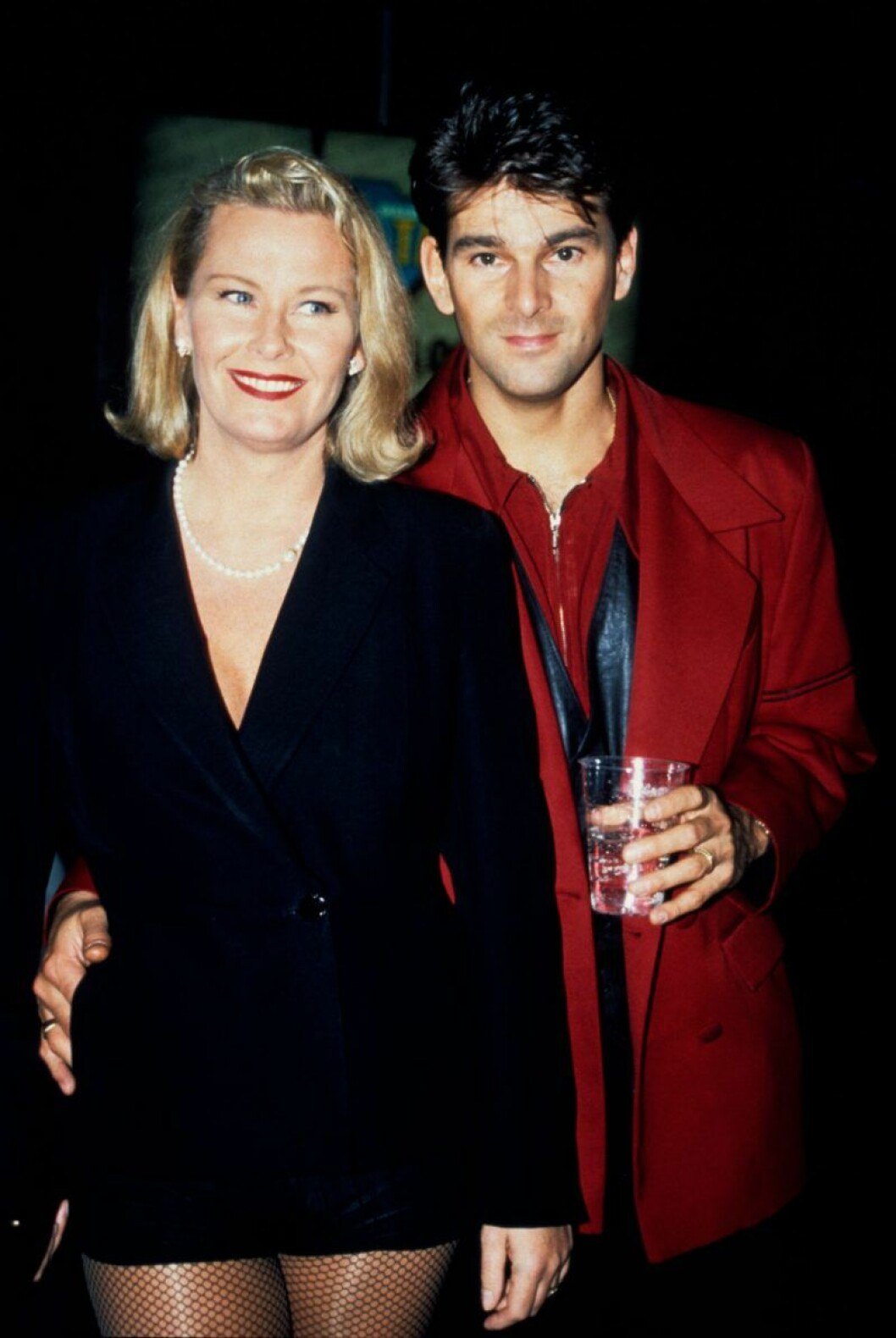 Niklas Strömstedt och Efva Attling var gifta fram till 1995