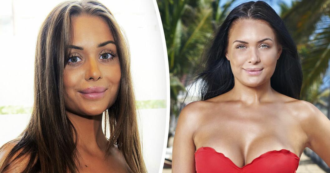 Paradise hotel-profilen Nina Glimsell Udovicic.