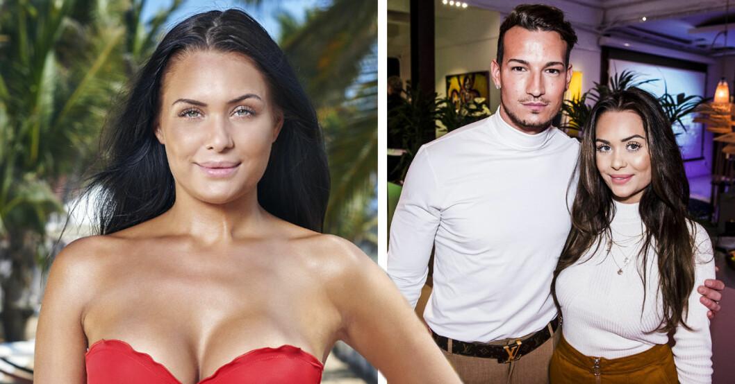 Nina Glimsell Udovicic är tillbaka i Paradise hotel 2019 efter uppbrottet från Marcelo Peña.